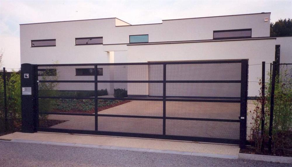 portails contemporains portails cl tures automatisation. Black Bedroom Furniture Sets. Home Design Ideas